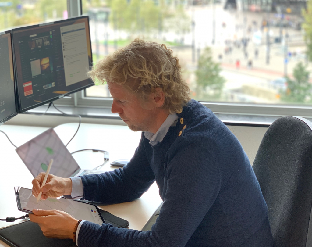 Interview with our UX designer Dennis Petri