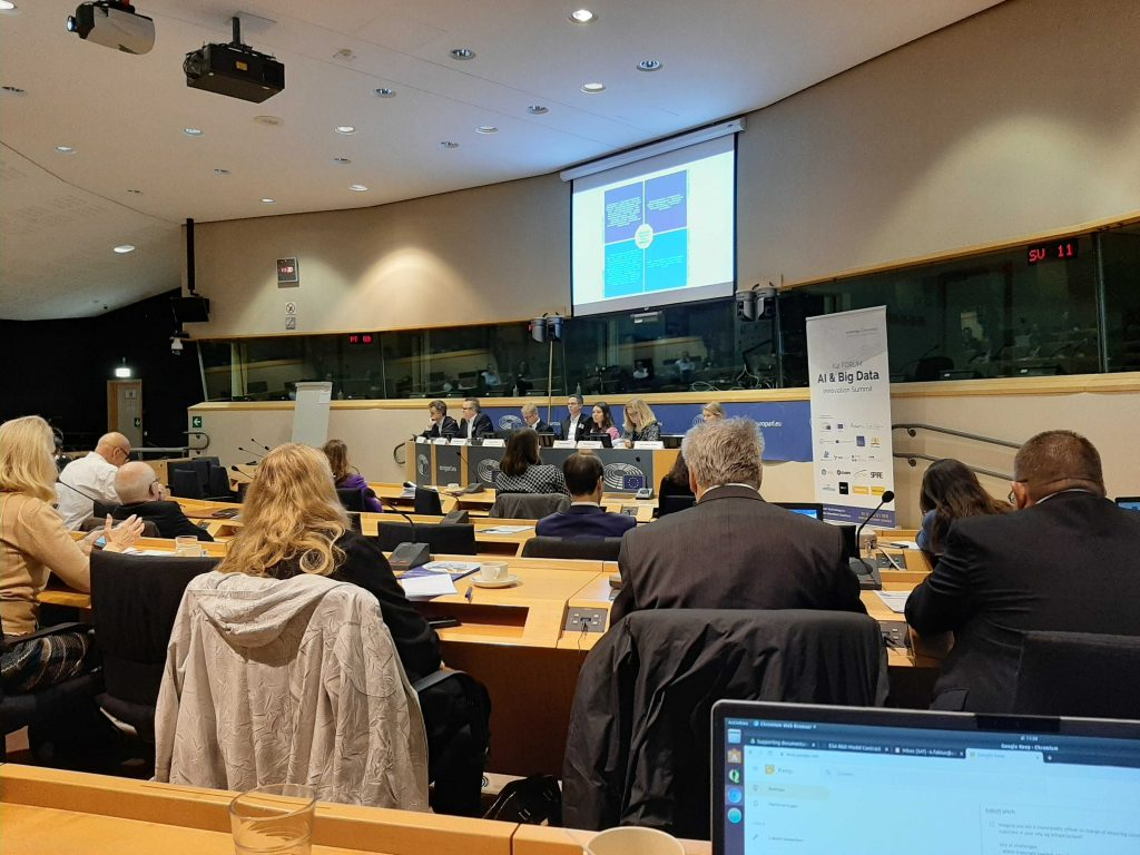 EU parliament receives Artificial Intelligence experts in Brussels